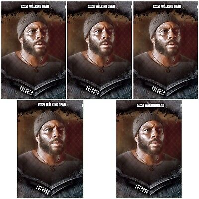 5x STOIC BLACK TYREESE The Walking Dead Card Trader Digital