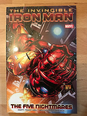 Invincible Ironman Five Nightmares Graphic Novel paperback tpb marvel comics