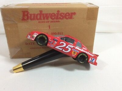 Rare Budweiser #25 NASCAR Tap Handle In Original Box - Ships Free