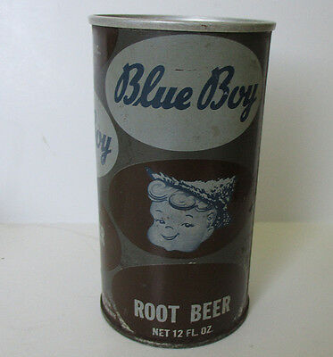 Blue Boy Root Beer Can Bank