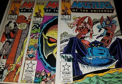 Masters Of The Universe (1986 Marvel) 3,4,5,