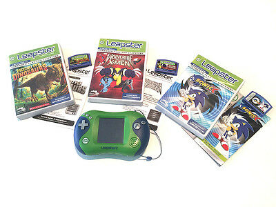 LeapFrog Leapster2 Learning Game Console - Green - including 3 Games