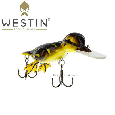 WESTIN Danny the Duck 48g floating Cod surface Lure;Brown Duckling