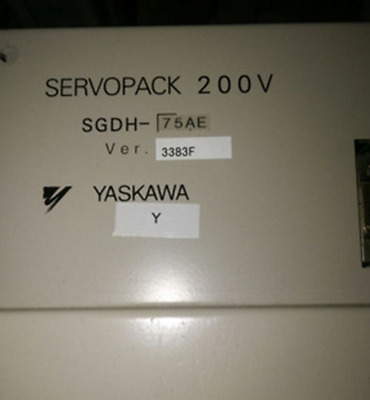1PC Used Yaskawa servo driver SGDH-75AE #WM06