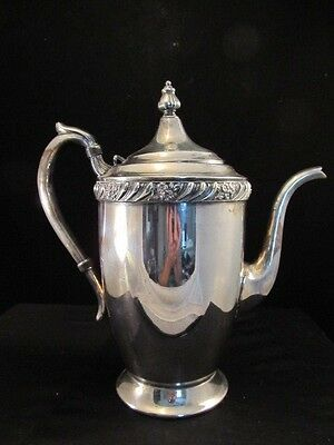 FB Rogers Silver On Copper Teapot 1883 Crown Mark No 1500 Silver Plated