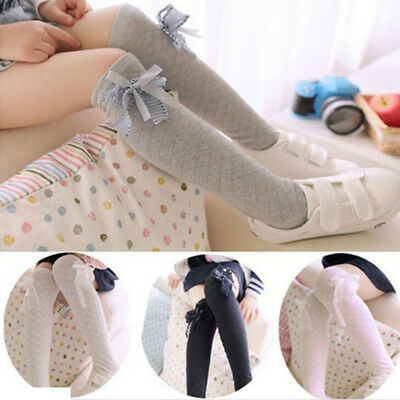 Baby Girls Toddler Kids Pure Cotton Tights Stockings Pantyhose Pants Socks