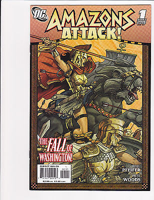 Amazons Attack ! #1-6 Set DC Comics Wonder Woman 2007