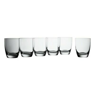 Krosno Vinoteca Gift Boxed Set of 6 x 390ml Bordeaux Glasses Brand New