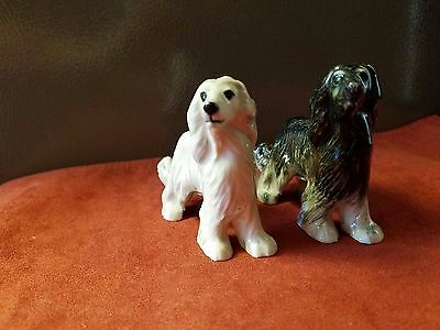 Blue Witch AFGHAN HOUND Dog Salt & Pepper Shakers * NEW *
