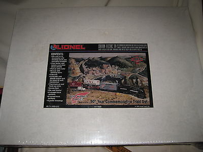 Lionel Red Wing Shoes 90th Anniversary Train Set 6-11820 New Factory Sealed 1995