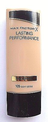 Max Factor Lasting Performance Touch-Proof Foundation SOFT BEIGE-105