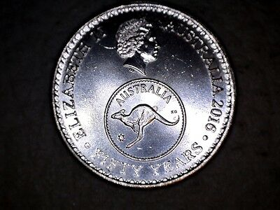 2016 Change over 5 cent coin Australian Uncirculated