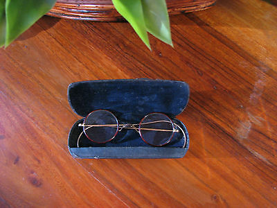 "Reading Frames/Glasses -Vintage ""H.W Withers Gold "" Wire / Tortoise Shell"