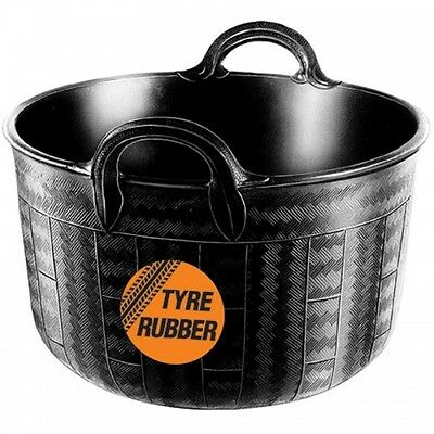 Real Rubber Bucket - Ideal For Commercial Use