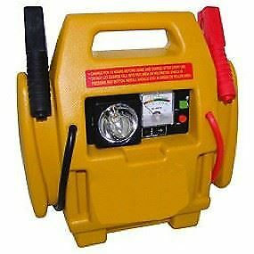 Brookstone 4 in 1 Jump Starter with Air Compressor