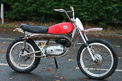 Bultaco Lobito MK4 175 1971 Classic Trail Bike US Import Restoration Project