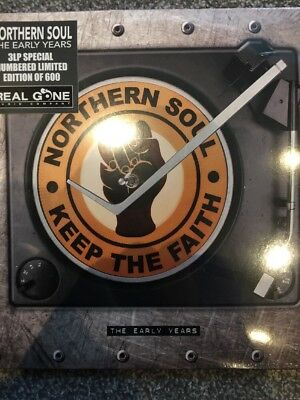 NORTHERN SOUL The Early Years 3 X LP Vinyl Limited Edition Numbered New / Sealed