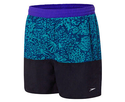 Speedo Boys' Panel Solid Leisure Short - Multi