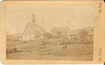 CDV photo Historische Ansicht Bad Elster ? - um 1880