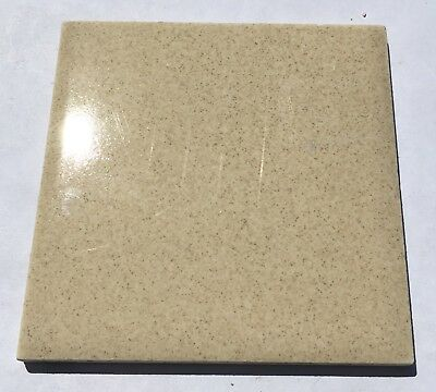 Vintage Salvaged 4x4 Tiles 'Robertson' 1 Sq. Ft. in Gold Speckles