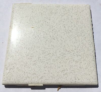 Vintage Salvaged 4x4 Tiles 'Robertson' 1 Sq. Ft. in White Speckles