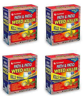 Path & Patio Weed Killer Sachets Kills Weeds/Roots Biodegradable Easy To Use New