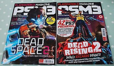 2 Copies Of Psm3, Playstation 3 Magazine. September And October 2010