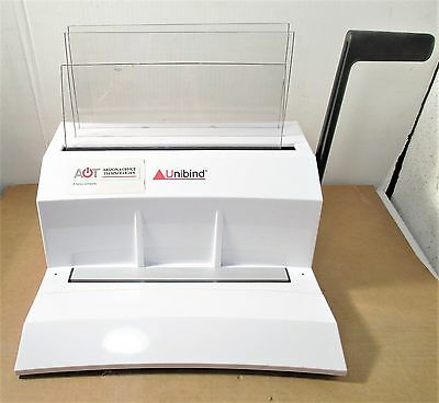Unibind Unibinder 8.M Thermal Binder With Built In Crimper