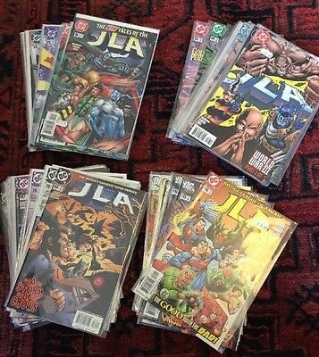 JLA (Justice League Of America) 1996 Series. 63 Issues. DC Comics. Joblot.