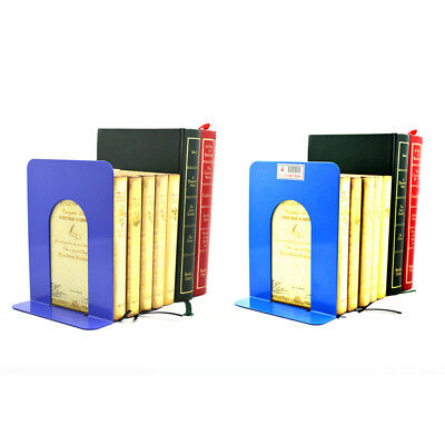 "2PCS 6.7 ""L-Formato Bookend Antisdrucciolo Solid Office Shelf Holder Home Office"