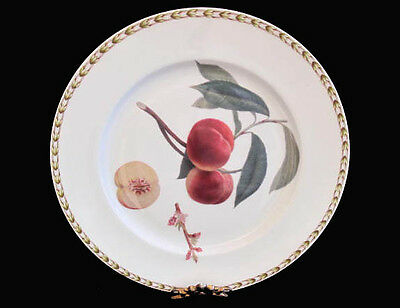 """Queen's Hookers Fruit Royal Horticultural Society (India) Dinner Plate ~ 10-5/8"""""""