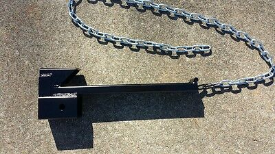 New Tractor Bucket Loader Trailer Hitch Receiver Skid Steer