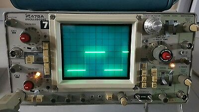 Oscilloscope 250mhz 2 voies Tektronix 475a dual scope