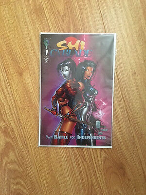 Cyblade / Shi: The Battle for Independents #1 (1995, Image)