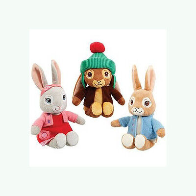 Peter Rabbit TV Plush Soft Toy - Peter, Lily Bobtail or Benjamin Bunny  NEW 2017