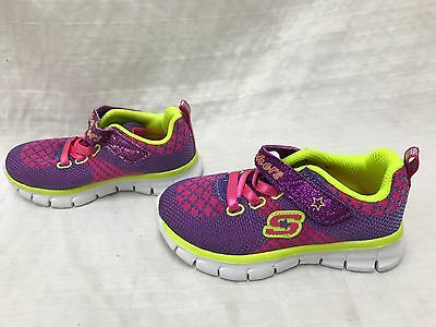 Toddler's Girl's Skechers Synergy Bubbly Training Sneakers           9H