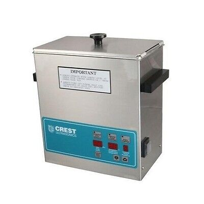 Crest Powersonic Ultrasonic Cleaner 1 Gallon Digital Timer, Heat, PC & Basket