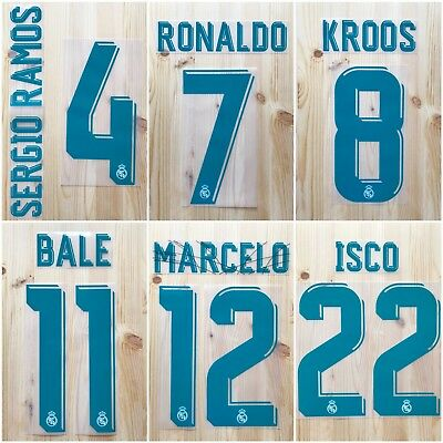 Real Madrid 2017-18 Name Set Home SportingID  Player Issue