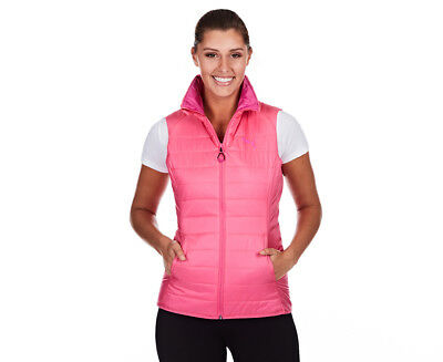 Puma Women's Essential Light Padded Vest - Shock Pink