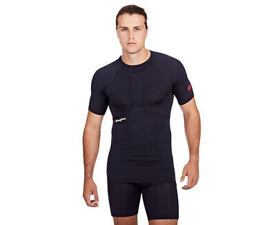 KingGee Men's G2 Compression Short Sleeve Top - Navy