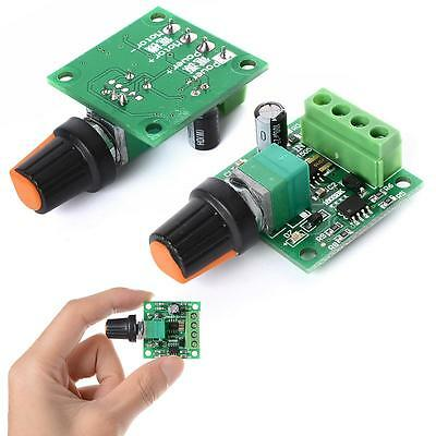 Ultra-small DC 1.8V 3V 5V 6V 12V PWM Mini Motor Speed Controller Switch 2A HO