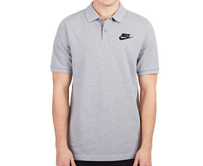 Nike Men's Matchup Polo Shirt - Heather Grey/Black