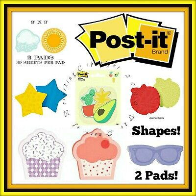 "Buy 1 Get 1 50% OFF (Add 2 to Cart) Post It Super Sticky Notes 3""x3"" 2 Pack"