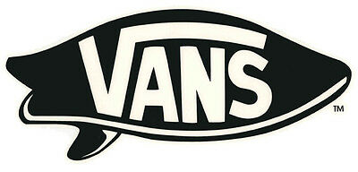Vans Surfboard Vinyl Sticker
