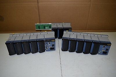 LOT 3 Yokogawa MX100 Data Acquisition Recorder Unit w/ MX110-UNV-M10 Modules x12