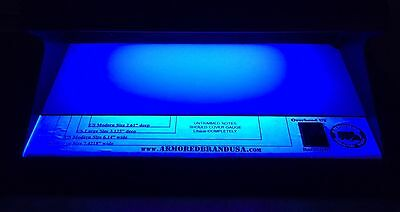 U.s. Currency Overhead Blacklight  & White Backlight Detector All Sized Notes
