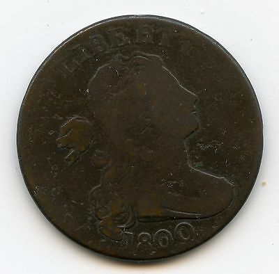 Genuine 1800 US Large Cent | Good+ Details