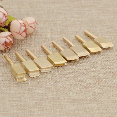 Leather Soldering Iron Tip for Edge Decor Leathercraft Solder Tools Brass DIY