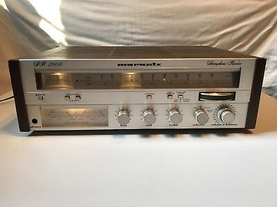 Vintage Marantz SR 2000 Stereo AM/FM Tuner Receiver - Tested and Working