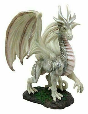 """Fantasy Battle of Thrones Wise Aged Wraith Hydra Figurine Wise Old Dragon 8""""H"""